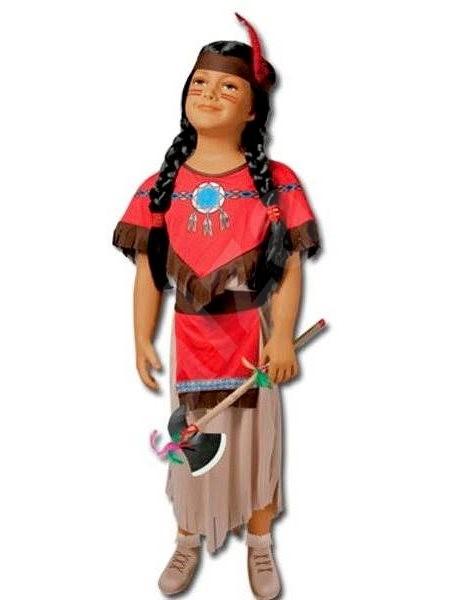 Kostým Indiánka vel. S - Dětský kostým  3e01c86c1ea