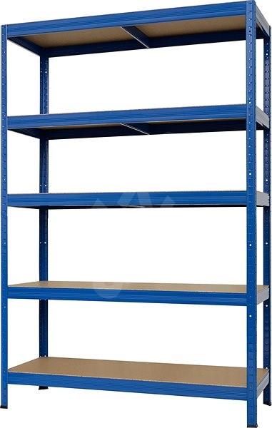 KOVONA FUTUR PLUS 1800 x 1200 x 600 mm, modrá - Regál