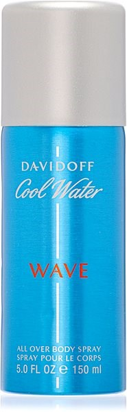 DAVIDOFF Cool Water Wave For Men 150  ml  - Pánský deodorant