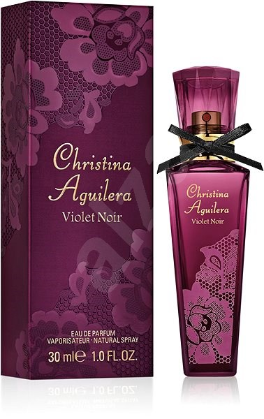 CHRISTINA AGUILERA Violet Noir EdP 30 ml - Parfémovaná voda