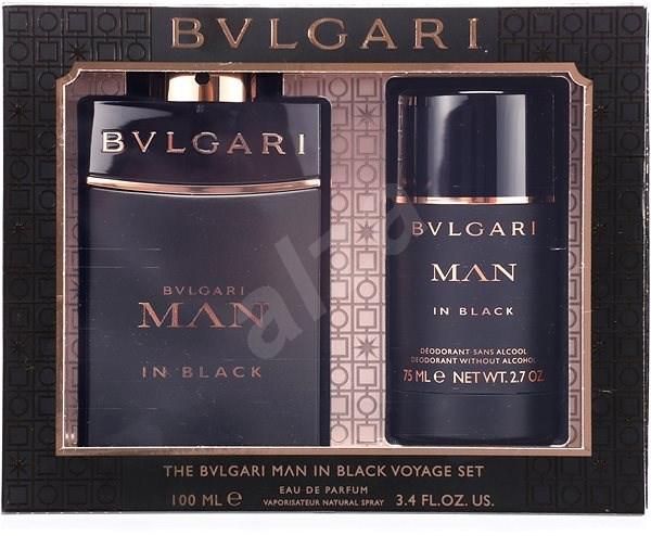 BVLGARI Man In Black EdP Set 175 ml - Dárková sada parfémů