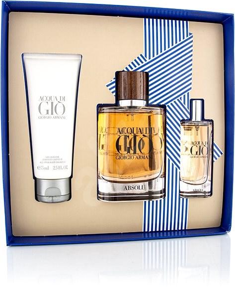 GIORGIO ARMANI Acqua Di Gio Absolu EdP Set 165 ml - Dárková sada parfémů