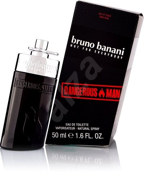 BRUNO BANANI Dangerous Man EdT 50 ml - Toaletní voda pánská