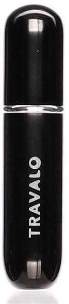 TRAVALO Refill Atomizer Classic HD Black 5 ml  - Plnitelný rozprašovač parfémů