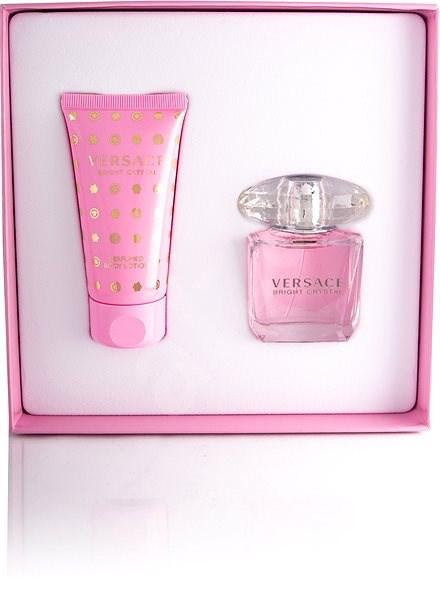 VERSACE Bright Crystal EdT Set 80 ml - Dárková sada parfémů