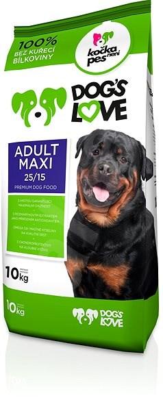 Dog´s Love Adult Maxi 10 kg - Granule pro psy