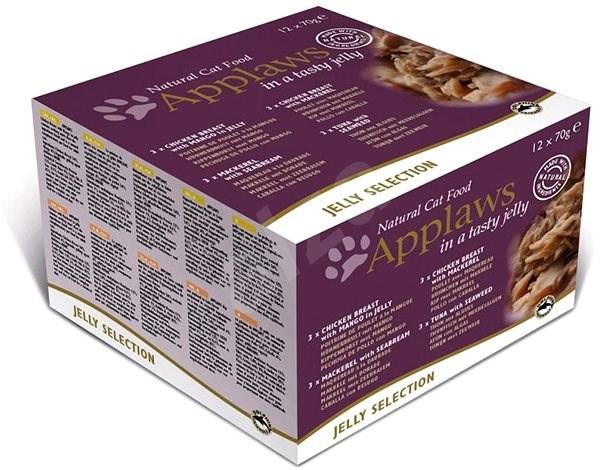 Applaws konzerva Cat Jelly multipack 12 × 70 g - Konzerva pro kočky