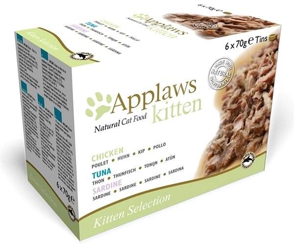 Applaws konzerva Kitten multipack 6 × 70 g - Konzerva pro kočky