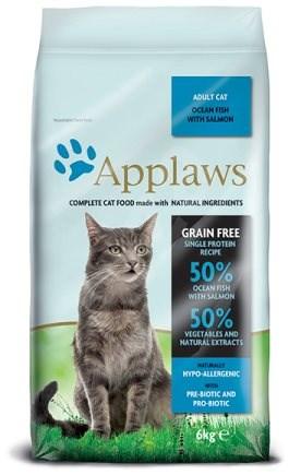 Applaws granule Cat Adult mořské ryby s lososem 6 kg - Granule pro kočky