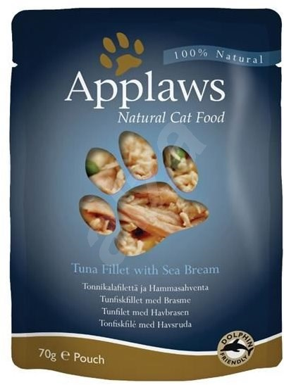 Applaws kapsička Cat tuňák a pražma 70 g - Kapsička pro kočky