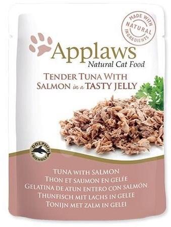 Applaws kapsička Cat Jelly tuňák a losos v želé 70 g - Kapsička pro kočky