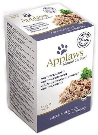 Applaws kapsička Cat Jelly MiniPack mix  5 × 50 g - Kapsička pro kočky