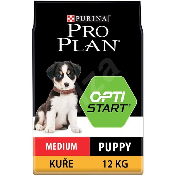 Pro Plan medium puppy optistart kuře 12 kg - Granule pro štěňata