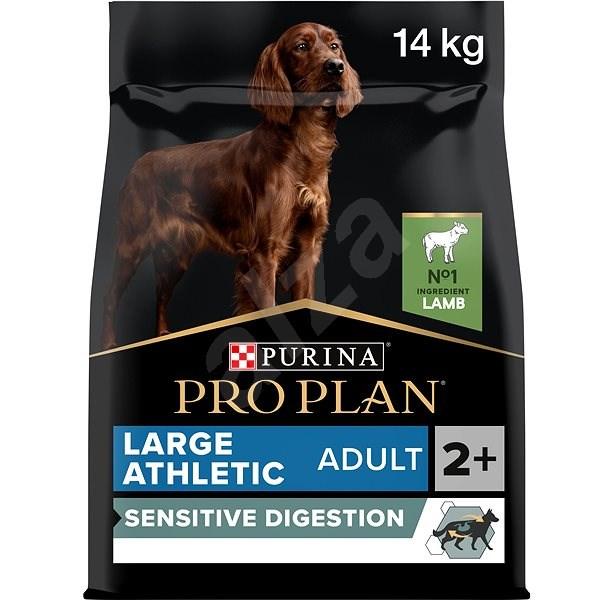 Pro Plan large adult athletic optidigest jehněčí 14 kg - Granule pro psy