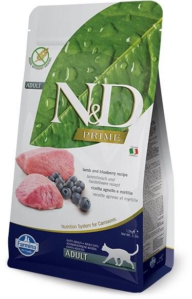 N&D grain free cat adult lamb & blueberry 10 kg - Granule pro kočky