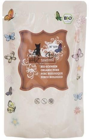 Catz finefood Bio - s vepřovým masem 85 g - Kapsička pro kočky