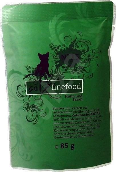 Catz finefood - s kuřecím a bažantím m. 85 g - Kapsička pro kočky