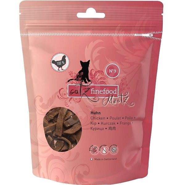 Catz finefood Meatz  - kuřecí 45 g - Pamlsky pro kočky