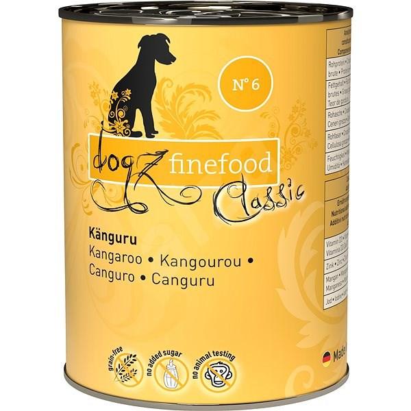 Dogz finefood - s klokaním masem 400 g - Konzerva pro psy