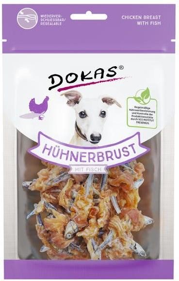 Dokas - Rybičky obalené kuřecím masem 70 g - Pamlsky pro psy