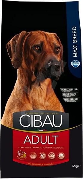 CIBAU Adult Maxi 12 kg - Granule pro psy