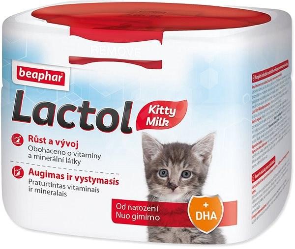 BEAPHAR Mléko sušené Lactol Kitty 500g - Mléko pro koťata