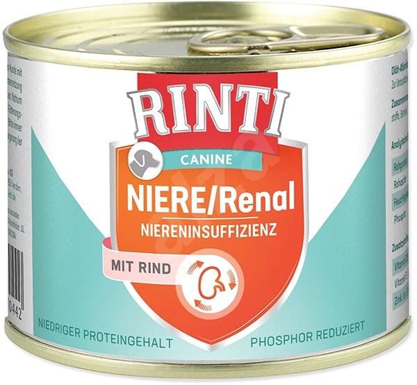 FINNERN konzerva Rinti Canine Niere/Renal hovězí 185g - Konzerva pro psy