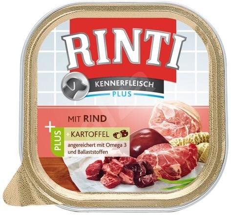 FINNERN vanička  Rinti Kennerfleisch hovězí+brambory 300g - Konzerva pro psy