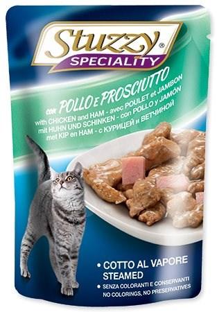 SCHESIR Kapsička STUZZY Speciality kuře+šunka 100g - Kapsička pro kočky