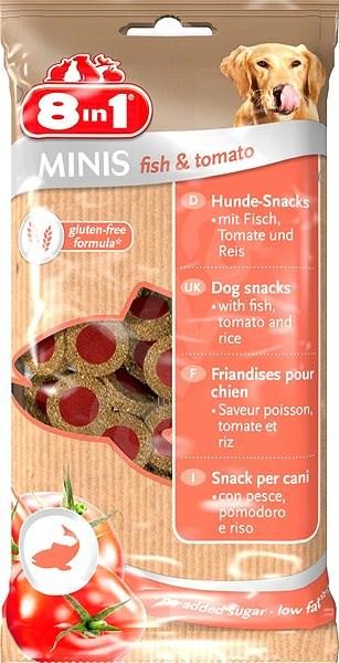 Pochoutka 8in1 Minis fish & tomato 100g - Pamlsky pro psy