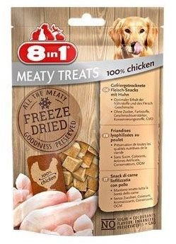 8in1 Dog Freeze Dried Chicken 50g 32 XG - Pamlsky pro psy