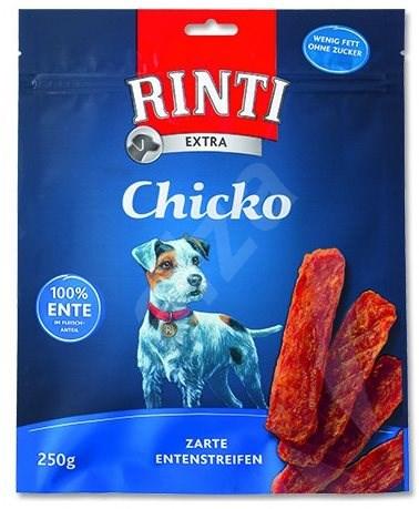 FINNERN pochoutka Rinti Extra Chicko kachna 250g - Sušené maso pro psy