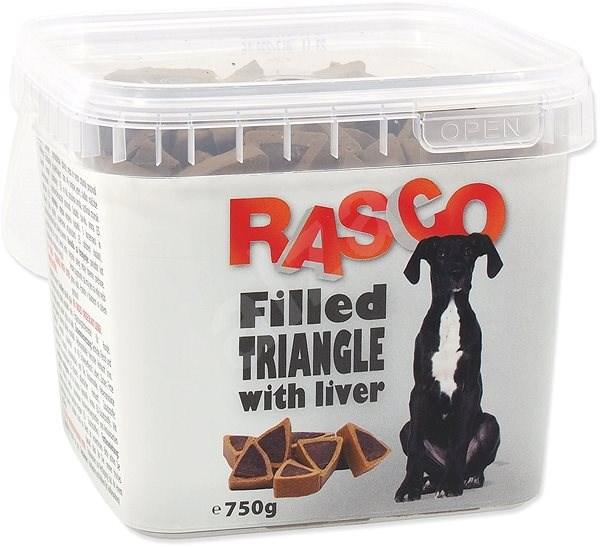 RASCO Pochoutka Rasco plněný trojúhelníček sjátry 1cm 750g - Pamlsky pro psy