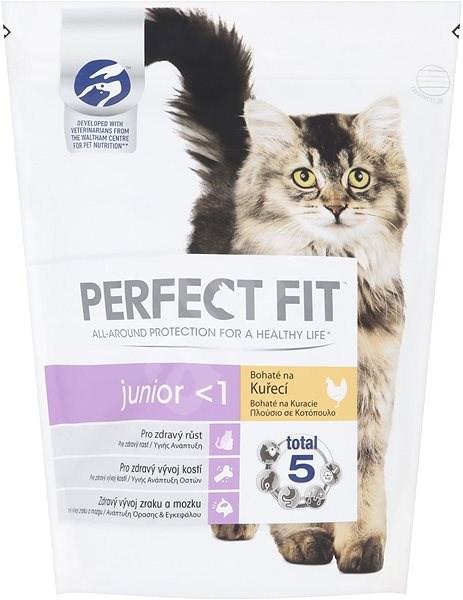 Perfect Fit granule Junior s kuřecím masem 750 g - Granule pro koťata