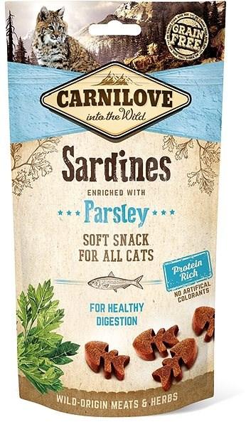 Carnilove cat semi moist snack sardine enriched with parsley 50 g - Pamlsky pro kočky