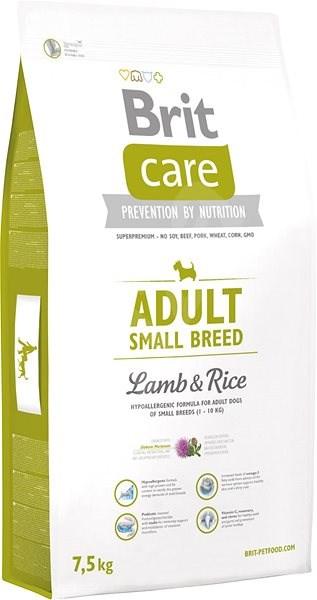 Brit Care adult small breed lamb & rice 7,5kg - Granule pro psy