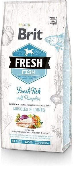Brit Fresh fish with pumpkin adult large 12 kg - Granule pro psy