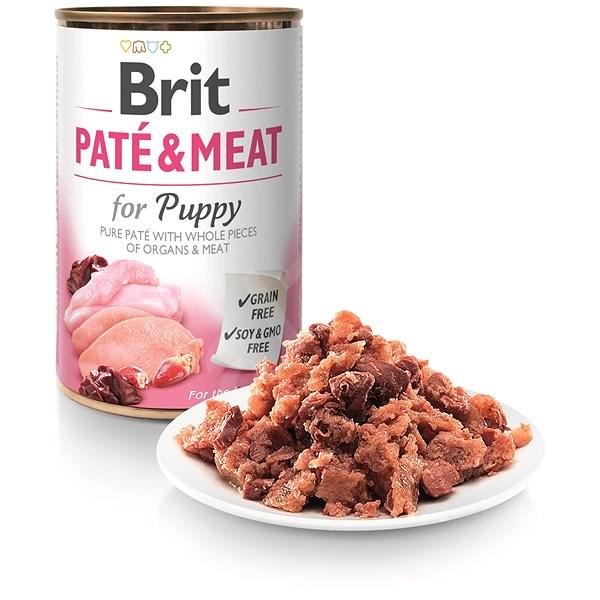 Brit Paté & Meat Puppy 400 g  - Konzerva pro psy