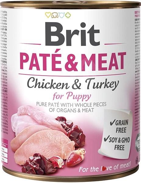 Brit Paté & Meat Puppy 800 g - Konzerva pro psy