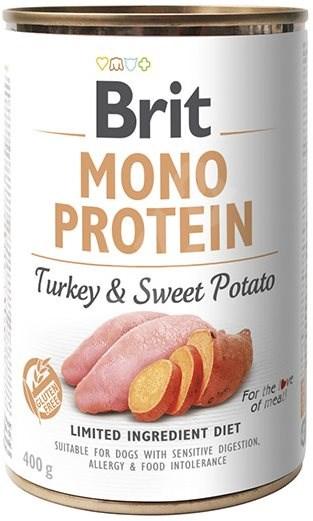 Brit Mono Protein turkey & sweet potato 400 g  - Konzerva pro psy