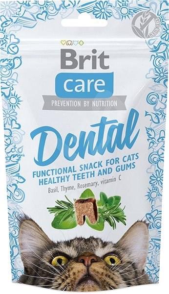 Brit Care Cat Snack Dental 50 g - Pamlsky pro kočky