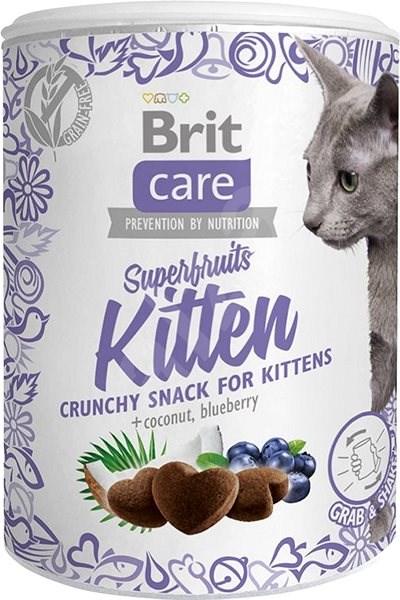 Brit Care Cat Snack Superfruits Kitten 100 g - Pamlsky pro kočky