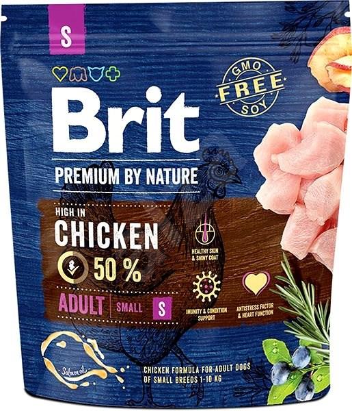 Brit Premium by Nature Adult S 1 kg - Granule pro psy