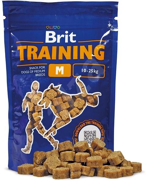 Brit Training Snack M 200 g - Pamlsky pro psy
