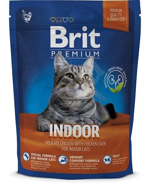 Brit Premium Cat Indoor 300 g - Granule pro kočky