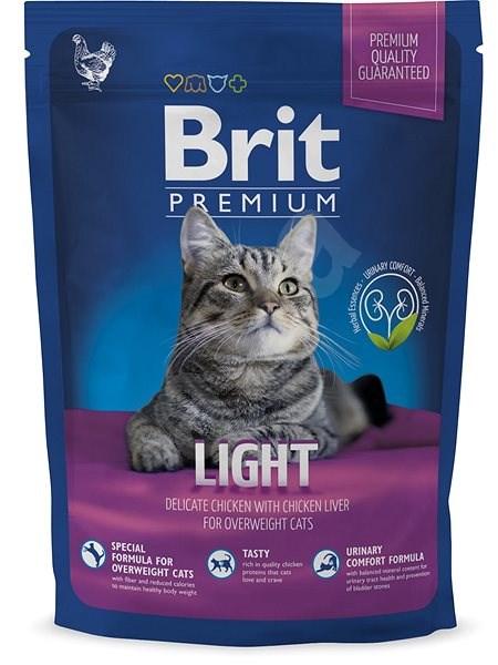 Brit Premium Cat Light 1,5 kg - Granule pro kočky