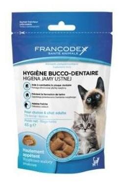 Francodex pochoutka Breath Dental kočka 65g - Pamlsky pro kočky
