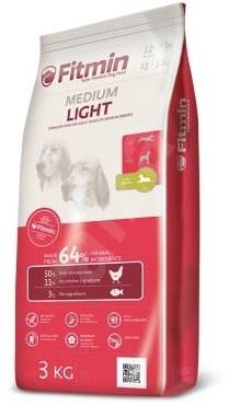 Fitmin dog medium light - 3kg - Granule pro psy