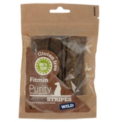 Fitmin dog Purity Snax STRIPES wild 5ks - Pamlsky pro psy