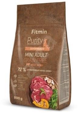 Fitmin dog Purity GF Adult Mini Beef - 0,8 kg - Granule pro psy